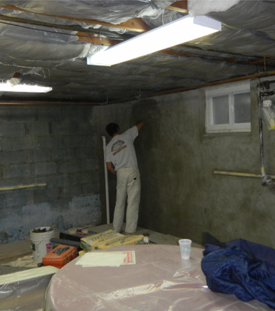 Basement Waterproofing - Low Cost Options and How to Save Money